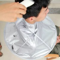 الإبداعية diy مريلة قص الشعر عباءة ماكينة حلاقة معطف الحلاق صالون sttlelists مظلة الرأس كاب حامي تنظيف المنزلية ZZA6132