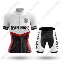레이싱 세트 사용자 정의 팀 이름 S11 여성 사이클링 저지 세트 여름 의류 도로 자전거 정장 산악 자전거 셔츠 턱받이 반바지 Maillot