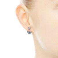Blue Crystal For Water Drop Stud Set Original Pandora Women Sterling 925 EARRING Silver Box Wedding Bright Earrings Irgmv
