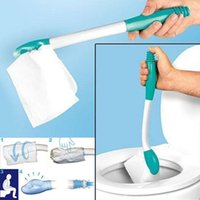 Cleaning Cloths Bathroom Brush Bottom Bum Wiper Toilet Incontinence Aid Obese Elderly Disability Mobility Tool