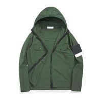 Topstoney 2020 konng gonng printemps et automne nouvelle veste à capuche mince version avancée trench-tranchée de marque