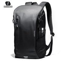 Fenruien Men Backpack Multifunctional Waterproof 15.6 Inch Laptop s Fashion Outdoor Sport School Travel Bag 210911