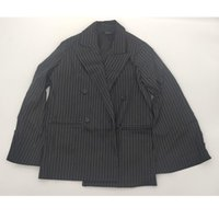 Women's Suits & Blazers YUERWANG Women Blazer Patchwork Striped Long Sleeve Ladies Suit Coat Double Breatsed Loose Woman Jacket Autumn 2021
