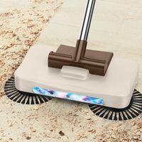 Vacuum Cleaner Dust Cleaning Mop Floor Paper Hand Push Sweeper Carpet Aspirador Household Merchandises DF50HPS