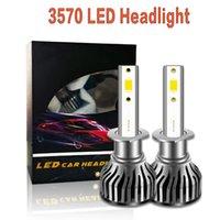 1 Pair Car LED Headlight H7 H4 H1 H8 9005 9006 Bulbs 20000LM Canbus HB3 HB4 Motorcycle Headlamp Auto Fog Light H3 6000K 12V