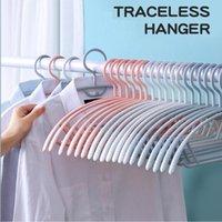Hangers & Racks Non-Slip Non-Marking Closet Organizer Clothing Rack Household Adult Plastic For Clothes