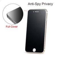 آيفون 12 ميني 12 برو ماكس xs ماكس خصوصية حامي الشاشة درع الزجاج المقسى جاسوس ل iPhone X XS XR 8