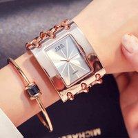 الساعات الفاخرة والساعات النسائية مصمم الساعات العلامة التجارية Montre de Marque Luxe Pour Femmes، Montre-Bracelet Lgante Avec Strass، EN OR، ،،