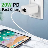 20W USB-C PD Adapter And 18W USB Wall Charger Power Fast Charging Type C Port Plug For iphone 12 Pro Max Samsung Huawei Xiaomi