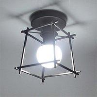 Ceiling Lights Industrial Vintage LED Light Retro Loft Lamp For Home Living Room Kitchen Decor Metal Cage Lighting Fixture E27