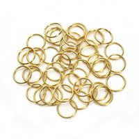 Right Rings Gold Open Round Rings Split Conting Connector One Loop Box Set JLLQJQ FFSHOP2001