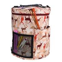 Notions de couture Outils Thread Fil de laine Thinting Aiguilles Bricolage Sac Tissage Accessoire Tool de l'organisateur imperméable pour maman