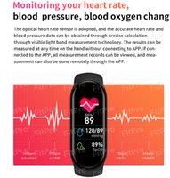 M6 M5 Smart Watch Sport Band Fitness Bracele Pedometer Heart Rate Blood Pressure Monitor Bluetooth Smartband Bracelet Men Women