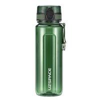 Uzspace BPA Free Fuite Preuve Grand Sports Bouteilles de voyage Coupe parfaite pour hommes Fitness en plein air Camping cyclisme
