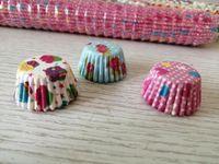 Mini taille 2.5cm de base de la décoration de la décoration de gâteau de cuisson de cuisson Muffin Coque Cupcake Doublures