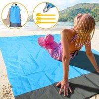 Outdoor Pads 79 Inch Waterproof Beach Blanket Portable Picnic Mat Camping Ground Mattress