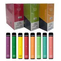 Barra folhada Plus Dispositivo de Vape Descartável POD Kit E Cigarro 800 Puffer 3.2ml Cartuchos Vaios Pen Puffer Pen