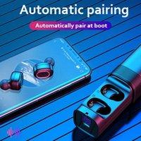 Headphones & Earphones Tg909 2021 Mini Dual Channel Bluetooth Headset TWS In-Ear Earplug Wireless Stereo