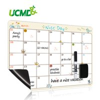 Magnetic Calendar Time Schedule Daily Weekly Monthly Organizer Planner Message Board To-Do List Planning Boards Fridge Magnets Q0313