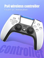 2021 Neuer Wireless Bluetooth-Controller für PS5 PS4-Schockregler Joystick Gamepad-Spielcontroller mit Paket schneller Versand 20x