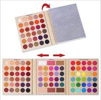 Coco Urban 86 Colors Kyshadow Palette: 80 ظلال عينيه و 6 ألوان استحى تضيء الصباغ الملحق بريق لامع