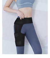 Elbow & Knee Pads Adjustable Groin Support Wrap Hip Joint Muscle Strain Belt Weight Lifting Thigh Protection Sports Protector Brace
