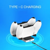 Battery Charger Charging Dock For Sony PS5 Playstation Play Station PS 5 Controller Wireless Docking Accessories Control Gamepad