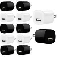 5V 1A 미국 AC 벽 USB 충전기 플러그 어댑터 삼성 HTC 안드로이드 전화 화이트 블랙 고품질