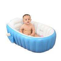 الاستحمام أحواض الاستحمام المحمولة حوض الاستحمام 98 * 65 * 28 سنتيمتر نفخ حوض الاستحمام الطفل وسادة الهواء مضخة الهواء الدافئ الحفاظ على قابلة للطي 1530 b3