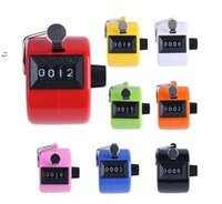 Counter 4 Digit Number Counters Plastic Shell Hand held Finger Display Manual Counting Tally Clicker Timer Points Clickers OWA9087