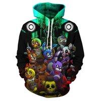 Midnight Docalace 2021 Тедди Медведь 3D Цифровая печать Пуловер с капюшоном Мода Повседневный свитер Модный человек
