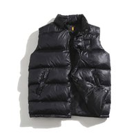 Designer mens down vest jackets French joint sleeveless printed women Vests coat Asia size M-3XL