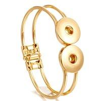 Snap Bijoux Banglier Bangling Bouton Bouton Bouton Bracelet Interchangeable