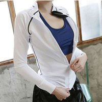 Sports jacket women' s loose and thin coat fast dry outd...
