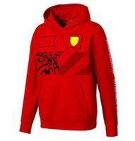 F1 Fórmula One Racing Suéter con capucha Uniformes Uniformes Men's y Women's Car Workwear Standard Workwear Plus Velvet Casual Sports Sweater Custom