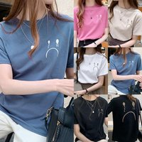 Women's T-Shirt Cute Tops T Shirt Korean Style Summer Loose Print Clothes Top