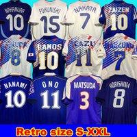 1994 Giappone Retro Soccer Jersey 2006 Home Nakata Kazu Nanami Nakayama Zaizen Fukunishi 2000 Camicia da calcio 1998 Giappone Retro uniformi di calcio Fukuda Ono