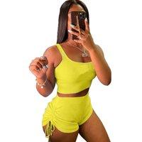 Trainingsanzüge Designer Yoga Set V-Ausschnitt Sexy T-shirts Frauen Outfits Anzug Laufen Gymshark Sportbekleidung Trainingsanzug Fitness Camouflage Gym 2pcs BH Richten Leggings Hosen