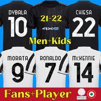 RONALDO DYBALA 21 22 juventus futbol forması MORATA DE LIGT KULUSEVSKI futbol forması MORATA KULUSEVSKI ARTHUR juventus Camiseta de fútbol 2020 2021 BERNARDESCHI maillot ayağı