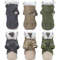 كلب الملابس الأيديولوجين 2021 لينة الملابس الدافئة ملابس الشتاء للكلاب معطف رشاقته الحيوانات الأليفة يوركشاير الطقس الروسي 35S