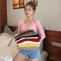 Women's Sweaters Pink Button Pullovers Vintage Sweater Women Knitted Tops 2021 Autumn Winter Female Casual Ladies Jumper Pull Femme Black