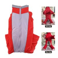 Dog Apparel Pet Puppy Down Jacket Costume Reflective Small Clothes Winter Warm Overalls For Boy Girl Cotton Jumpsuit