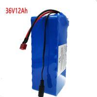 Vakaumus NEUE / 36V Batterie Pack Ebike 18650 42V mit 15 A BMS T-Stecker Hochleistung 12AH 10S 4 P für 250W 350W 500W Motor