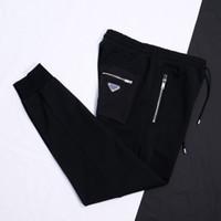 2020 Vereinigte Staaten Männer Hosen Casual Hip Hop Hose Frühlingsreisen Hohe Qualität Nähte Kontrast Farbe Plus Samt Binding Füße Hosen