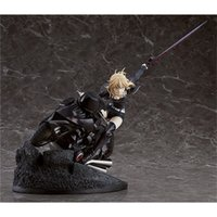 Lenseple Anime Fate Grand ordre Saber Altria Pendragon avec moto 1/8 Échelle PVC Black Saber Figure Modèle de collection T200825