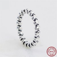 Cluster Rings 925 Sterling Silver Glorious Star Trail For Women Jewelry Adding Sparks Of Contemporary Glitz To Your Look FLR029