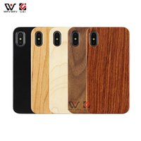 In Stock Fast Delivery Wooden TPU Mobile Cell Phone Cover Cases For iphone 7 8 11 12 Promax Xs Xr X Max Natural Black Walnut Cheery Wood Shell Case