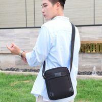 New outdoor messenger single shoulder backpack leisure straddle fashion men's small bag SS7M