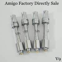 Amigo Classic Liberty V9 Atomizer Factory Directly Sale Visible 0.5ml 1.0ml Empty Vape Pens Ceramic Carts Disposable Vaporzier No Leaking Promised
