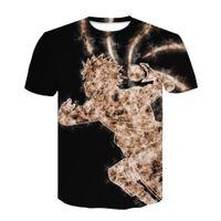 2020 Mens T-Shirt Naruto Jugend Kinder T-Shirt 3Dt-Shirt Naruto Sweatshirt Cosplay Top Herren T-Shirt